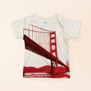 bay bridge lapneck tee via barley & birch