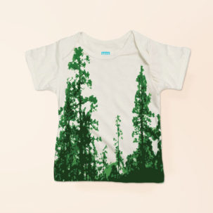 forest lapneck tee via barley & birch