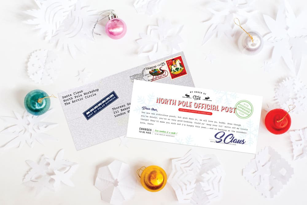 Our Santagram free printable has arrived just in time for some holiday fun! | via barley & birch