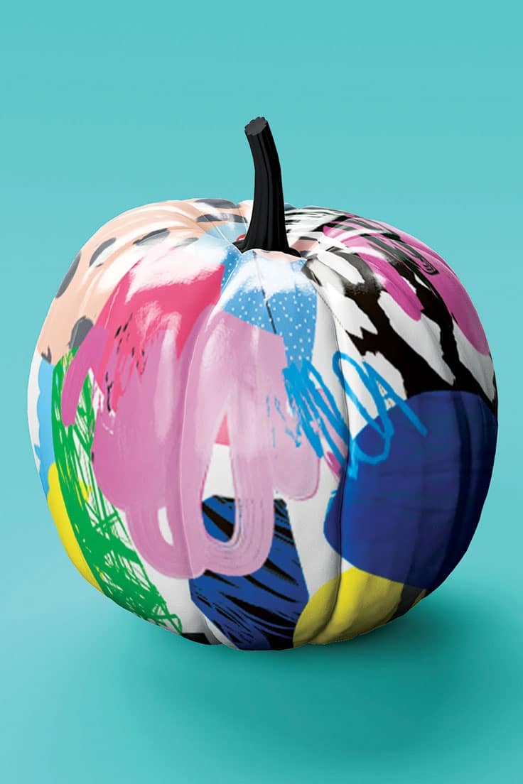 Our favorite fun and modern no-carve pumpkins