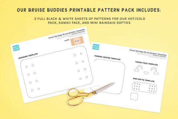 Bruise Buddies Pattern Pack Preview